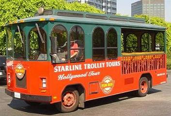 Fake Vintage Bus Trolley