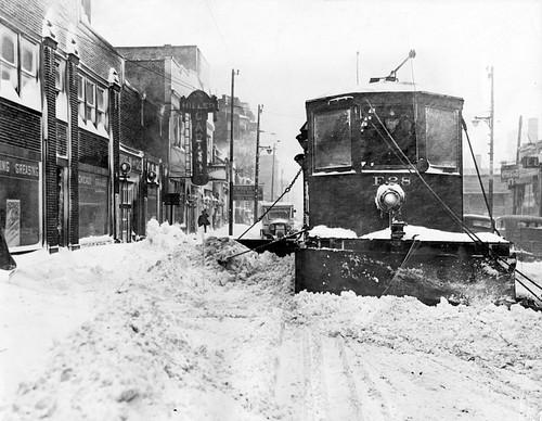 Streetcar Snow Plow