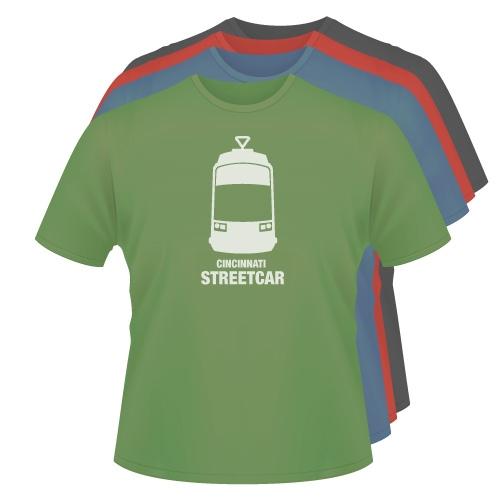 Streetcar Tshirt Image