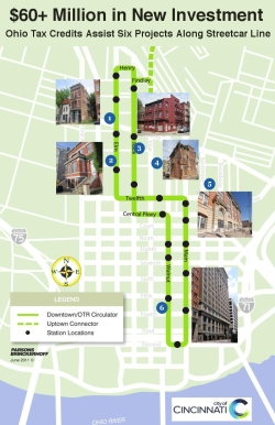 Streetcar Map Tax Credits