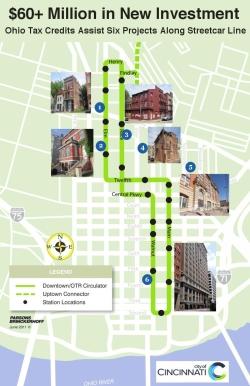 Streetcar Map Tax Credits