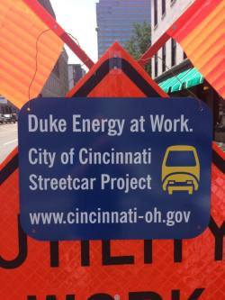 Streetcar Utility Relocation Work