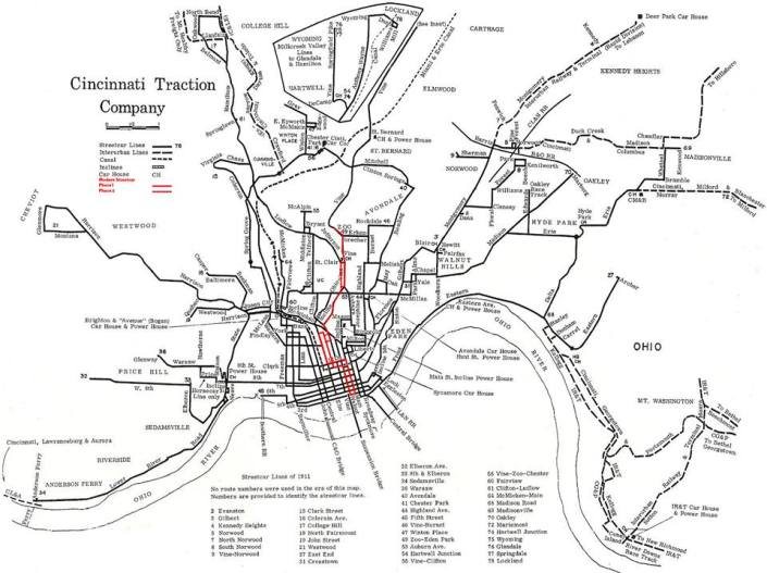 Cincinnati Streetcar Network