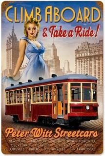 Climb Aboard Peter Witt Streetcars